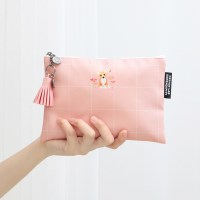 [태슬포함] D.LAB NY Pouch - 핑크 코스모스 코기_(673513)