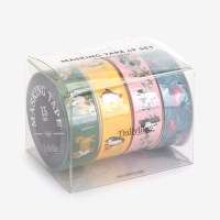 Masking tape 4p set - 02 Animal2