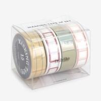 Masking tape 4p set - 06 Memo