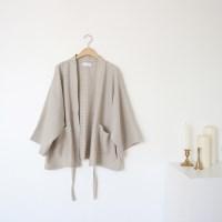 waffle short jacket