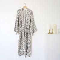 blend robe _ white