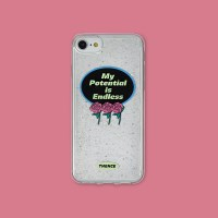 GLITTER PHONE CASE_MY POTENTIAL_i7/8