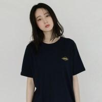 [치즈달] 'FRANCE' 그래픽 코튼 티셔츠