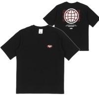 [센스스튜디오] 백 글로브 티셔츠 (블랙)_(838439)