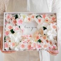 가장아름다운순간 벚꽃 프로포즈플라워박스_(585775)