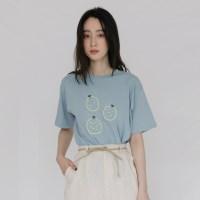 [치즈달] 유자 코튼 티셔츠