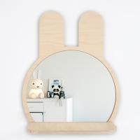 리틀리 자작나무 선반거울 Bunny 토끼