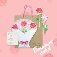 꽃다발 카드