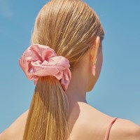 Hair Scrunchie (Peach)