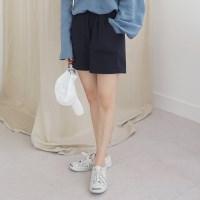 Cotton banding short pants
