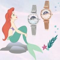 [디즈니X클루] Ariels dream 문페이즈시계 2종택1(CL2G18604)