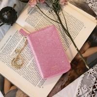 D.LAB Twinkle Zipper Wallet - Pink_(682162)