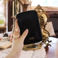 D.LAB Twinkle Zipper Wallet - Black_(682159)
