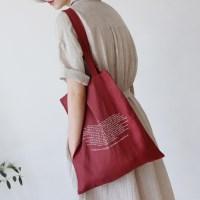 Sentence linen bag