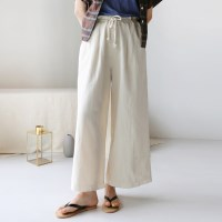 Bold string wide pants