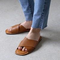 Classy x-strap slipper