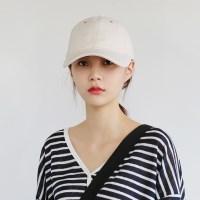 Stitch line cotton cap