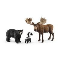 [슐라이히] 북미 숲 속 동물들_(301565403)