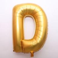 알파벳 은박 풍선 (대) 골드 D_(301567320)