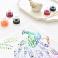 센토스피어 DIY 수채화그리기, 수채화 컬러링