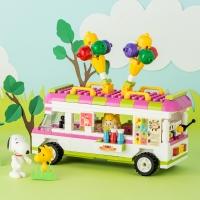 스누피 블럭(아이스크림 트럭)