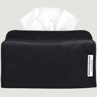 Nylon Black Tissuebox Cover