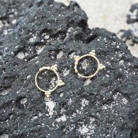 14k gold vintage earring