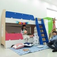 [홈잡스] 소피아 어린이 2층침대(슈퍼싱글)