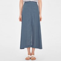 jane linen long skirt_(991989)