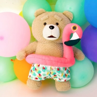 19곰 테드 여름한정 플라밍고튜브 테드 30CM_(906106)