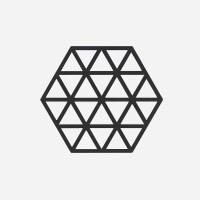 존덴마크 존 트라이앵글 팟홀더 실리콘 냄비받침 - 블랙_(1153550)