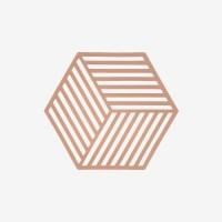 존덴마크 존 헥사곤 팟홀더 실리콘 냄비받침 - 누드_(1153546)