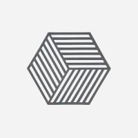존덴마크 존 헥사곤 팟홀더 실리콘 냄비받침 - 쿨그레이_(1153540)