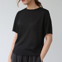 Sheer cool knit tee