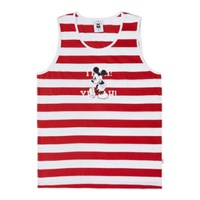 [ALOHA MICKEY] YEAH MICKEY SLEEVELESS (RED)