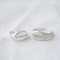 플랫이니셜 Ring (silver925)