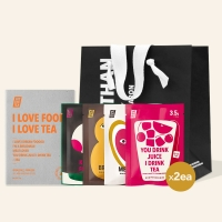 [힛더티] 4종 블렌딩티 선물세트 (8개입) + 선물용 쇼핑백(소형)