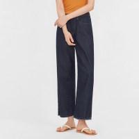 part wide denim pants_(999721)