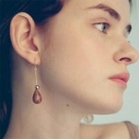 Gold Raindrop Earring