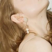 Pebble Lollipop Earring