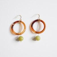 Grape Seed Ring Earring