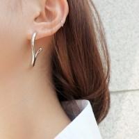 Shimmer Summer Long Earring