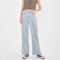 wing straight denim pants (s, m, l)_(1000648)
