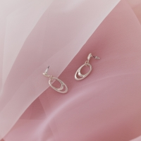 feminine antique earring