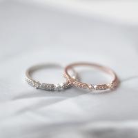 베이직큐빅 Ring (silver925)