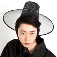 저승사자 모자 (양반갓)