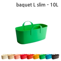 프랑스 수납바구니 바켓 L slim 10L [1+1]