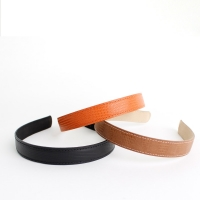 Stitch leather Hairband