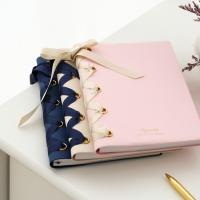 [막스] Diary - Lace Up(B6 Weekly Left)