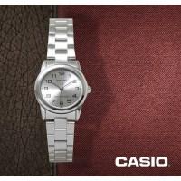 카시오 CASIO LTP-V001D-7B 여성용 메탈밴드 아날로그시계